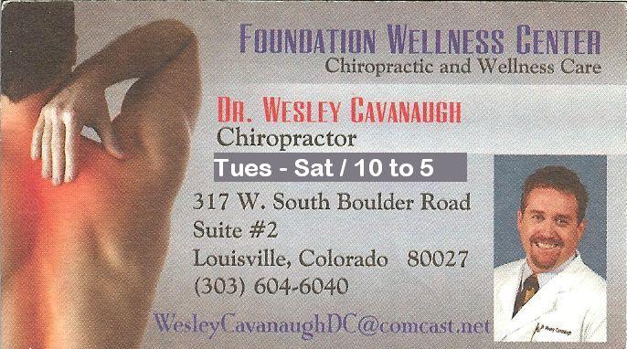 Dr. Cavanaugh